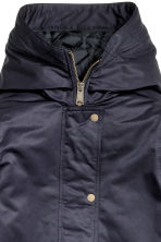 Padded parka - Dark blue - Ladies | H&M CN 4