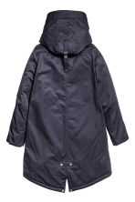 Padded parka - Dark blue - Ladies | H&M CN 3
