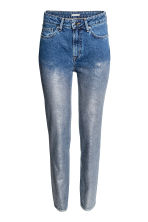Jeans con coating argentato - Blu denim - DONNA | H&M IT 2