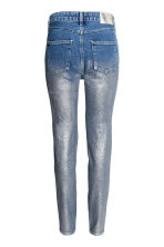 Jeans con coating argentato - Blu denim - DONNA | H&M IT 3