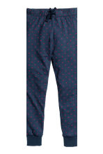 Jersey pyjamas - White/Spotted - Kids | H&M CN 3