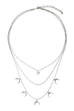 Multistrand necklace - Silver - Ladies | H&M CN 1