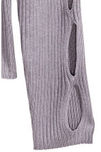 Cut-out jumper - Heather purple - Ladies | H&M GB 3