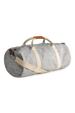 Jersey weekend bag - Grey marl - Ladies | H&M CN 2