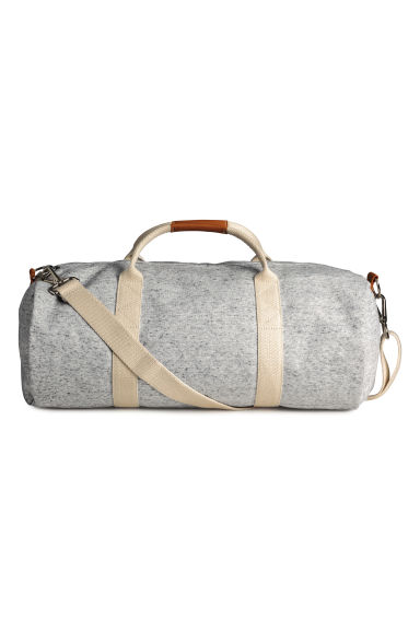 Jersey weekend bag - Grey marl - Ladies | H&M CN 1