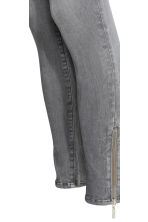 Shaping Skinny Ankle Jeans - Grey denim - Ladies | H&M CN 4