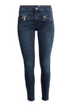 Shaping Skinny Ankle Jeans - Dark denim blue - Ladies | H&M CN 2