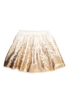 Gonna in tulle con paillettes