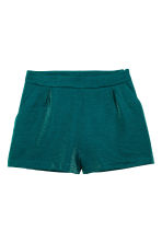 Short shorts - Emerald green - Ladies | H&M CN 2