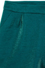 Short shorts - Emerald green - Ladies | H&M CN 3