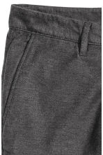 Flannel trousers Skinny fit - Dark grey - Men | H&M CN 4