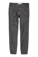 Flannel trousers Skinny fit - Dark grey - Men | H&M CN 2