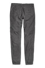 Flannel trousers Skinny fit - Dark grey - Men | H&M CN 3