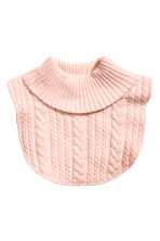 Polo-neck collar - Light pink -  | H&M CN 1