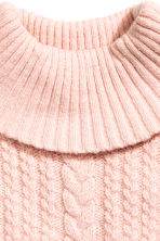 Polo-neck collar - Light pink -  | H&M CN 2