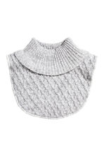 Polo-neck collar - Light grey marl - Kids | H&M CN 1