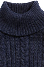 Polo-neck collar - Dark blue - Kids | H&M CN 2