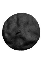 Beret in a wool blend - Black - Ladies | H&M CN 2