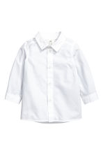 Shirt and slipover - White/Beige - Kids | H&M CN 2