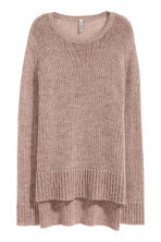 Knitted jumper - Old rose - Ladies | H&M CN 2