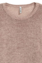 Knitted jumper - Old rose - Ladies | H&M CN 3