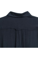 Viscose shirt - Dark blue - Men | H&M CN 3