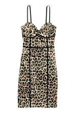 Short dress - Leopard print - Ladies | H&M CA 2