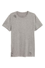 Trashed T-shirt - Grey - Men | H&M CN 2