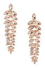 Sparkly earrings - Gold - Ladies | H&M CN 1