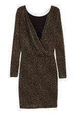 Abito glitter - Nero/dorato -  | H&M IT 3