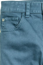 Twill trousers Regular fit - Dusky blue - Kids | H&M CN 4
