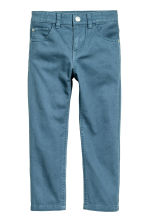 Pantaloni in twill Regular fit - Blu nebbia - BAMBINO | H&M IT 1
