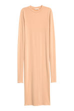 Bodycon dress - Light beige - Ladies | H&M CN 2