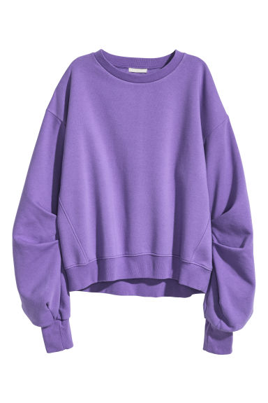 Sweatshirt - Purple - Ladies | H&M GB 1