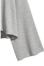 Wide-sleeved sweatshirt - Grey marl - Ladies | H&M CN 3