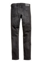 Slim Low Trashed Jeans - Black washed out - Men | H&M CA 3