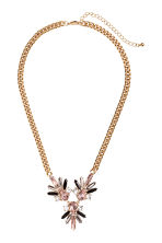 Necklace with sparkly pendants - Gold - Ladies | H&M CN 1