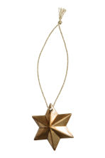 6-pack Christmas decorations - Gold - Home All | H&M CN 2