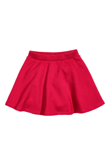 Bell-shaped skirt - Red - Kids | H&M CN
