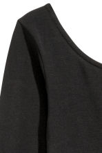 Long-sleeved body - Black - Ladies | H&M 4