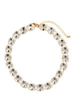 Short sparkly necklace - Gold - Ladies | H&M CN 1
