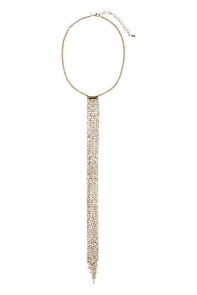Sparkly necklace - Gold - Ladies | H&M CN