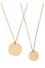 2-pack necklaces - Gold - Ladies | H&M CN 3