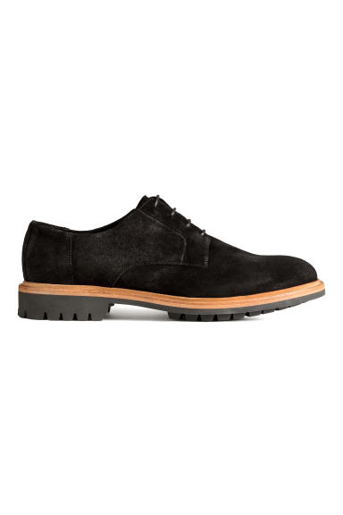 Scarp derby scamosciate - Nero -  | H&M IT 1