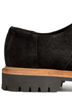 Scarp derby scamosciate - Nero -  | H&M IT 4