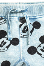Joggers - Light blue/Mickey Mouse -  | H&M CN 3