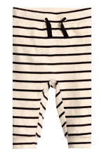 Top and trousers - Light beige/Striped - Kids | H&M CN 2