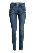 Slim Biker Jeans - Blu denim scuro - DONNA | H&M IT 2