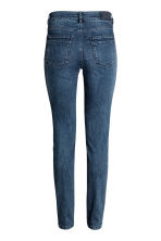 Slim Biker Jeans - Dark denim blue - Ladies | H&M CN 3