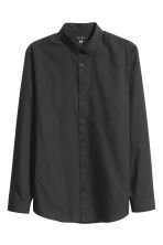 2-pack easy-iron shirts - Black - Men | H&M CN 3